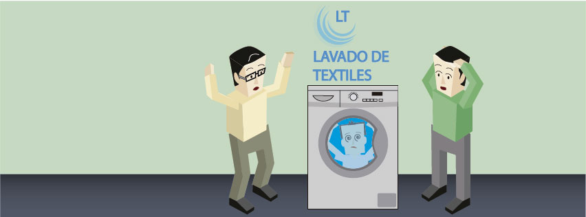 Portada lavado de textiles
