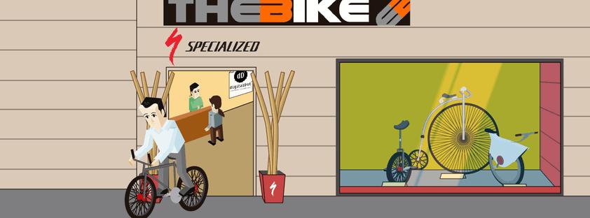 Diseño Tienda Online The Bike
