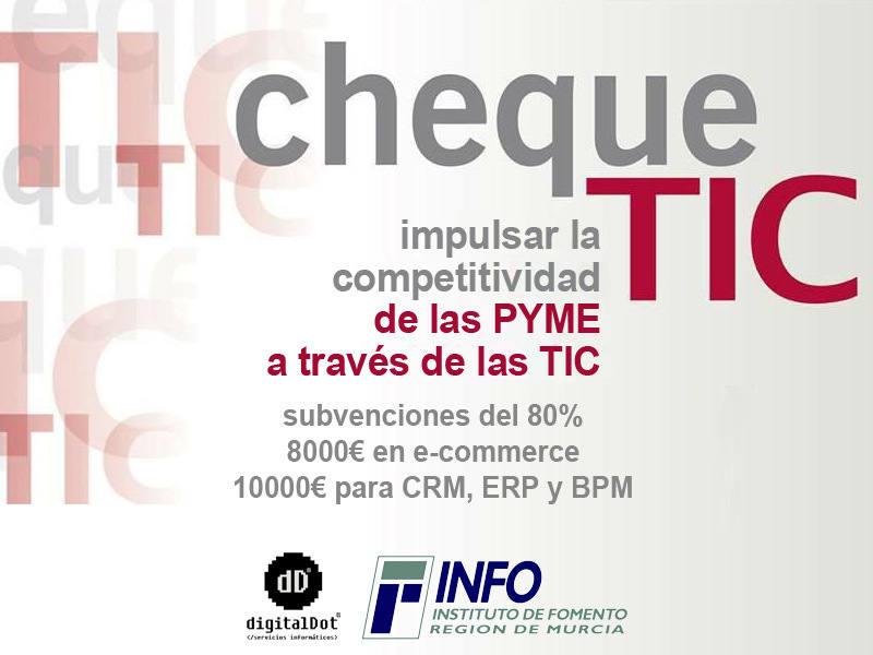Cheque TIC en la Región de Murcia