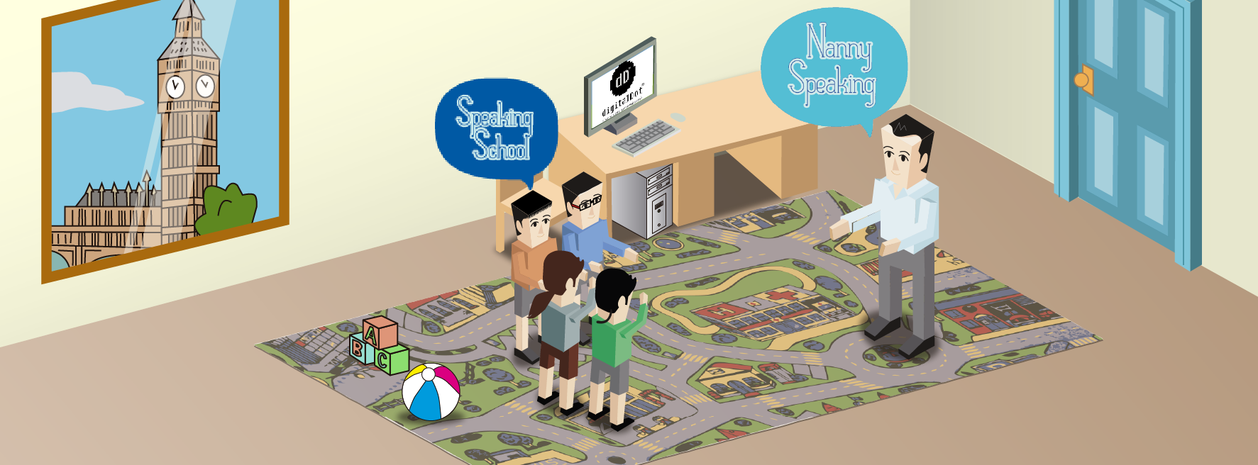 Desarrollo web Speaking School