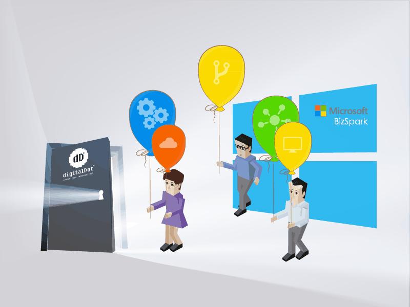 digitalDot partícipes en el proyecto BizSpark de Microsoft