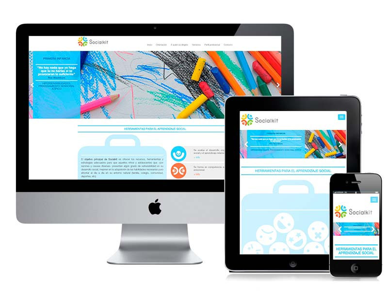 Desarrollo web Murcia SocialKit