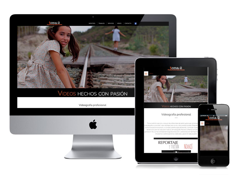 Diseño web Toma 2