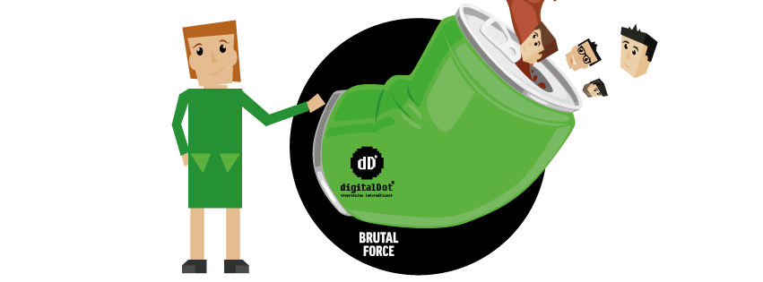 Diseño web Brutal Force