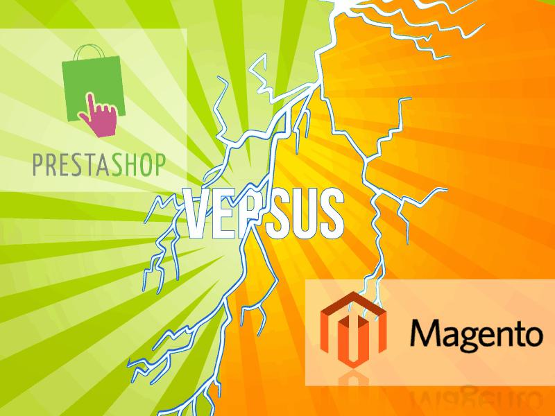 Comparativa PrestaShop VS Magento