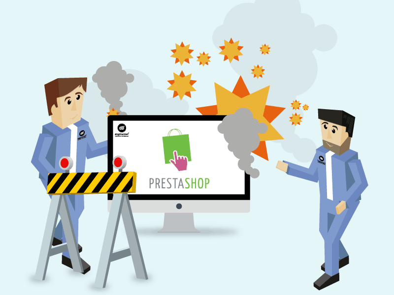Problemas base de datos PrestaShop