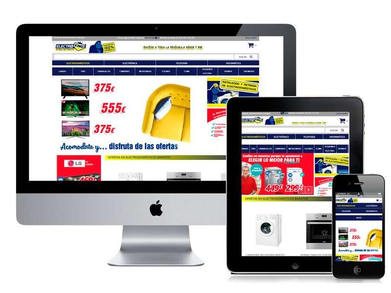 Diseño web de Electroking