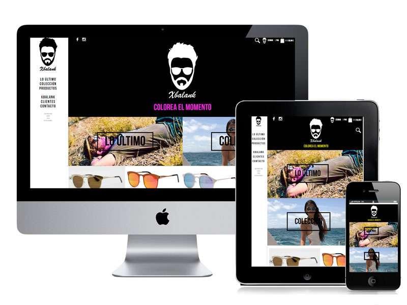 Diseño tienda online Xbalank