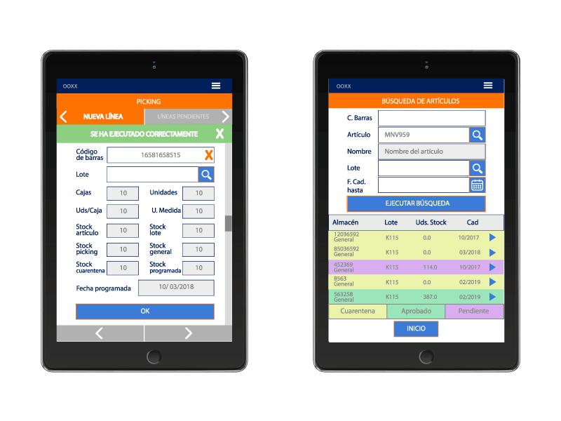 Desarrollo app SGA Navision. digitalDot
