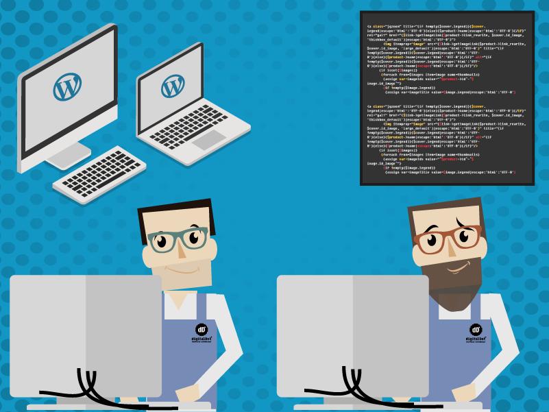 Mantenimiento para WordPress. digitalDot