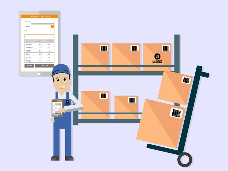 Aplicación Móvil para gestión de almacén