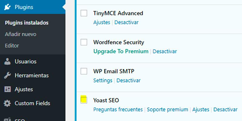 yoast seo plugin wordpress