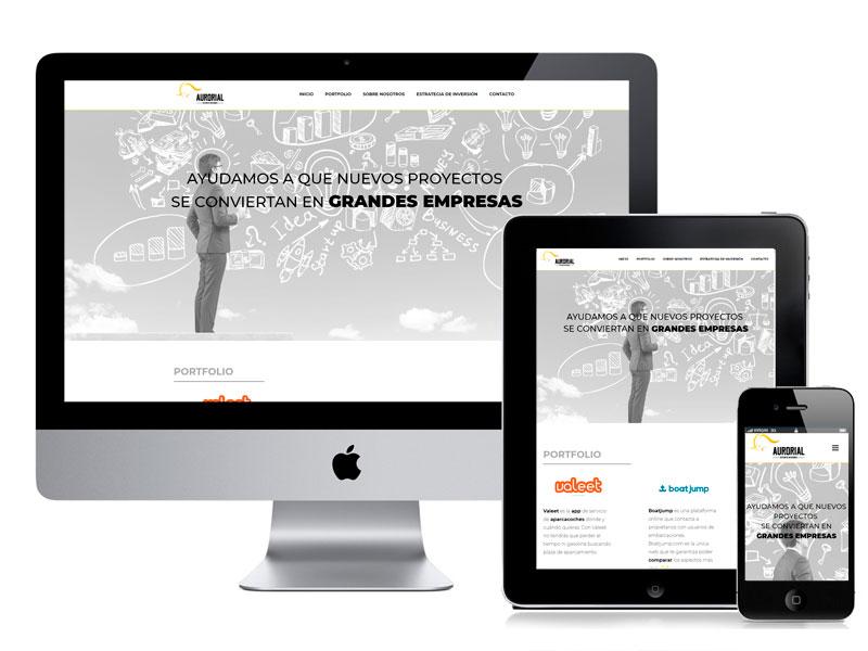 Diseño página corporativa por digitalDot