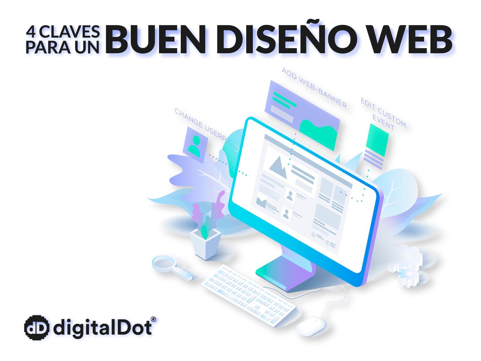 Claves para un buen diseño web. digitalDot