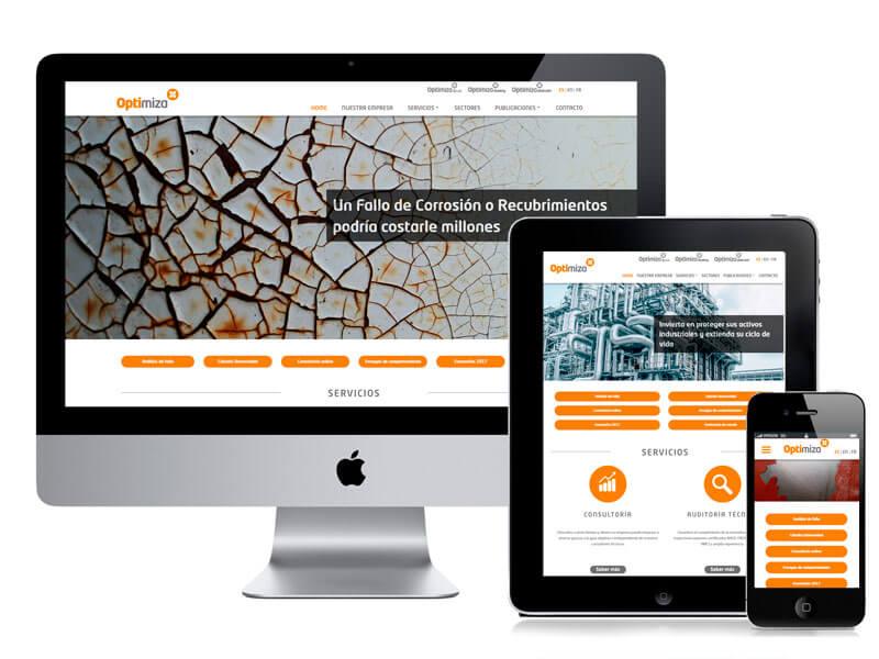 Desarrollo web Optimiza por digitalDot