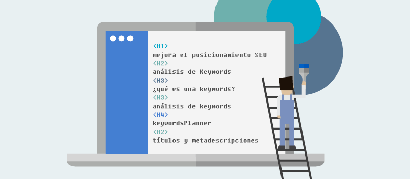 Encabezados en el diseño web de Murcia