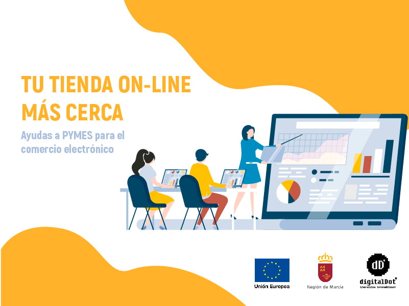 Ayudas comercio online. digitalDot