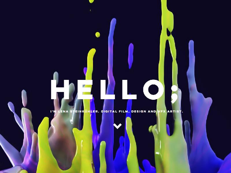 Tendencias web. Tipografía 2019 por digitalDot