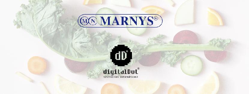 Diseño web Marnys por digitalDot