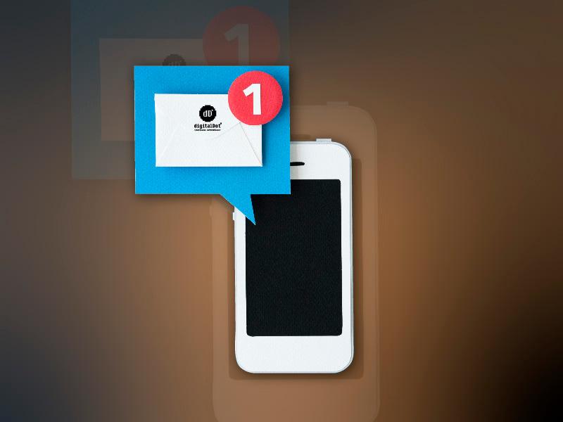 Notificaciones push en app. digitalDot