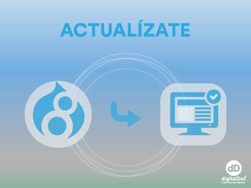 Actualizar Drupal 7 a 8. digitalDot