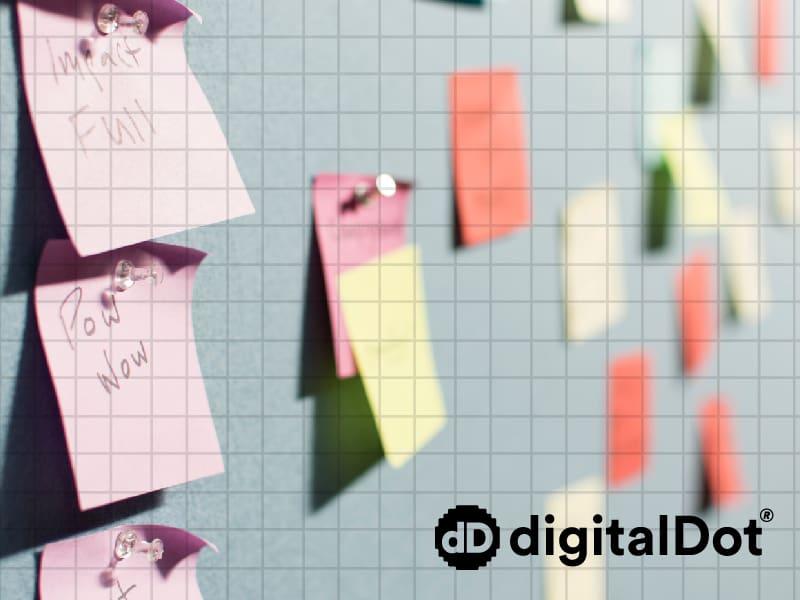 Elegir nombre de marca. digitalDot