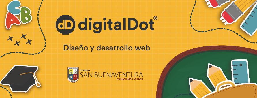 Diseño de la página web Colegio San Buenaventura