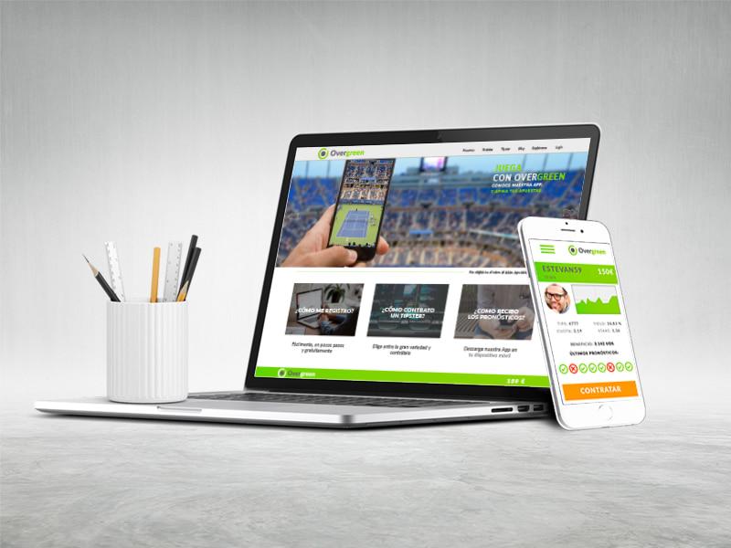 Diseño app de apuestas por digitalDot