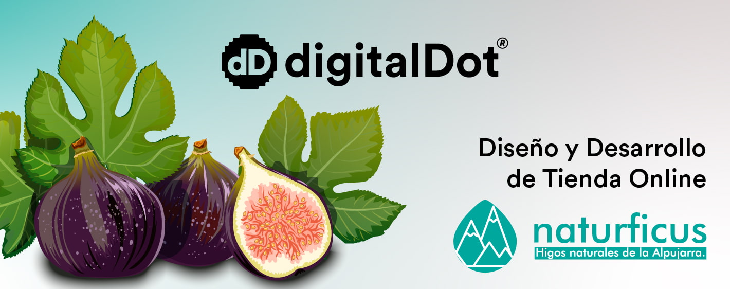 Diseño web tienda online Naturficus. digitalDot