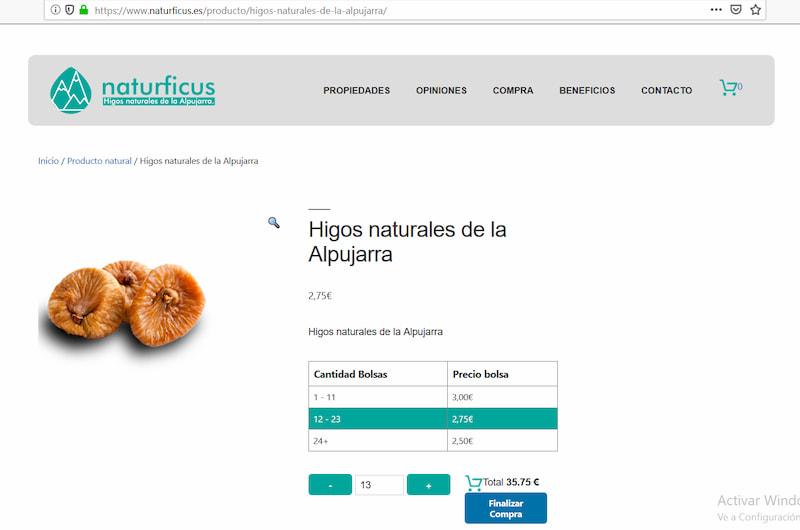 Plugin WordPress precios articulo único. digitalDot