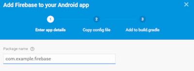 añadir firebase app
