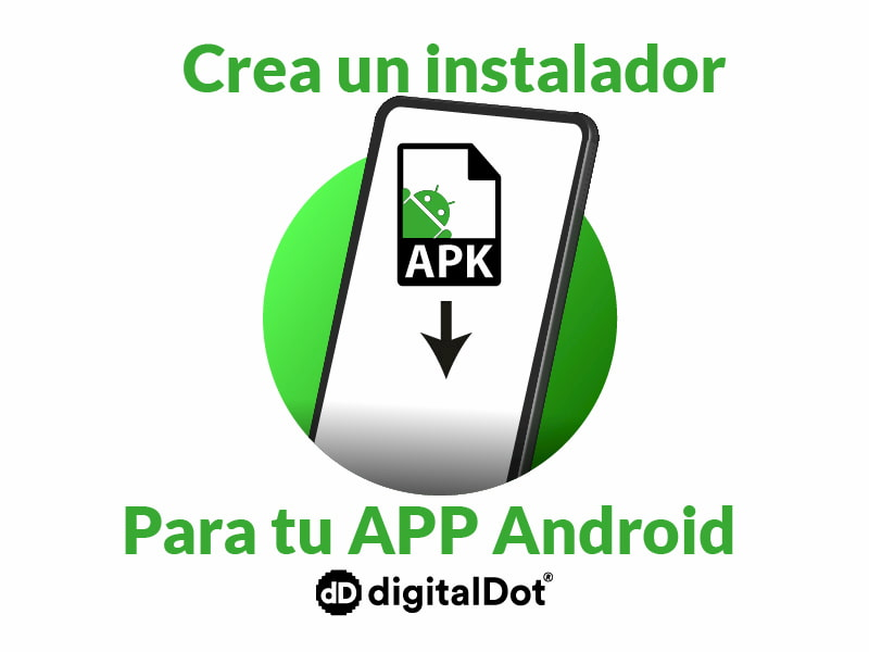 Instalador para app Android en Windows