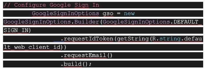Integrar acceso app Google