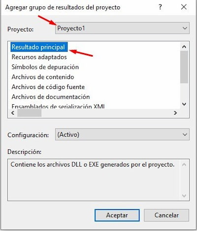 Instalador app en Windows