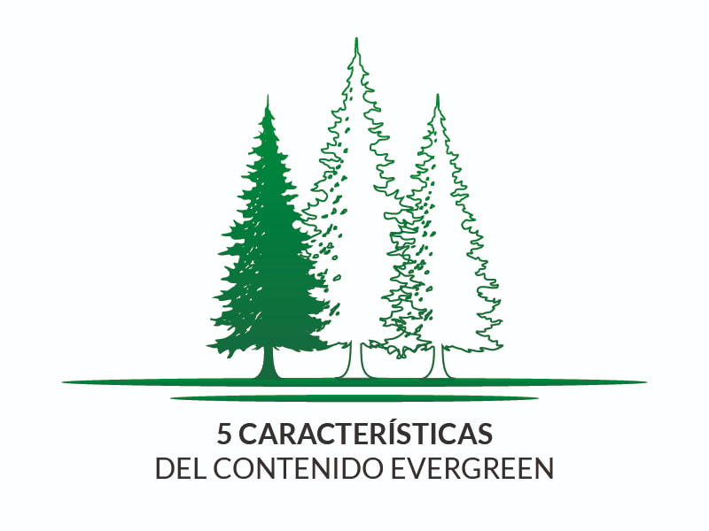 Características contenido evergreen
