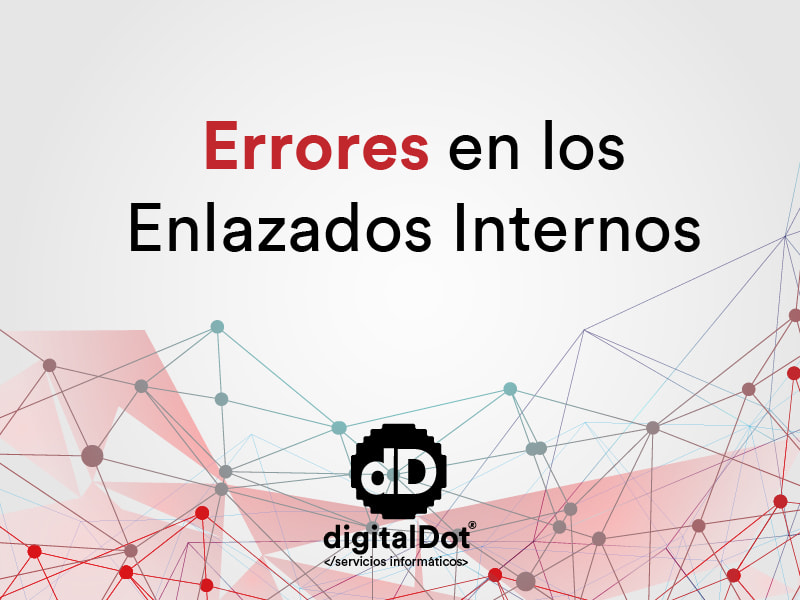 Errores en los enlaces internos
