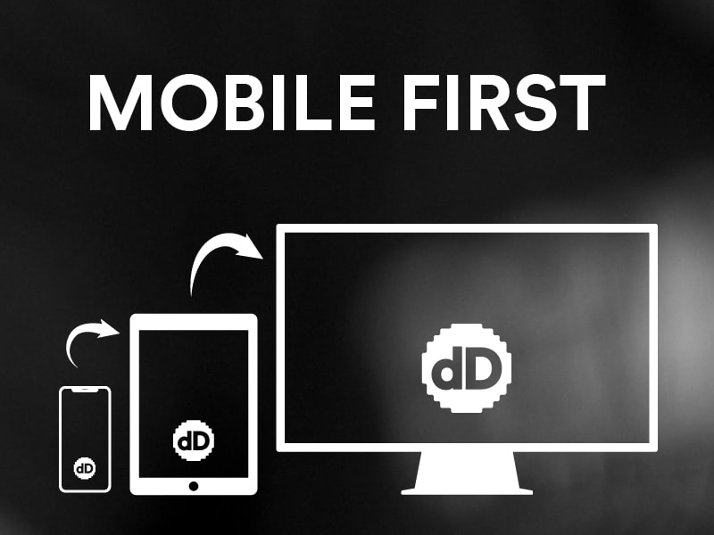 Mobile first. Diseño web