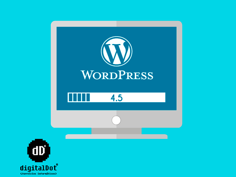 Optimización página web con WordPress