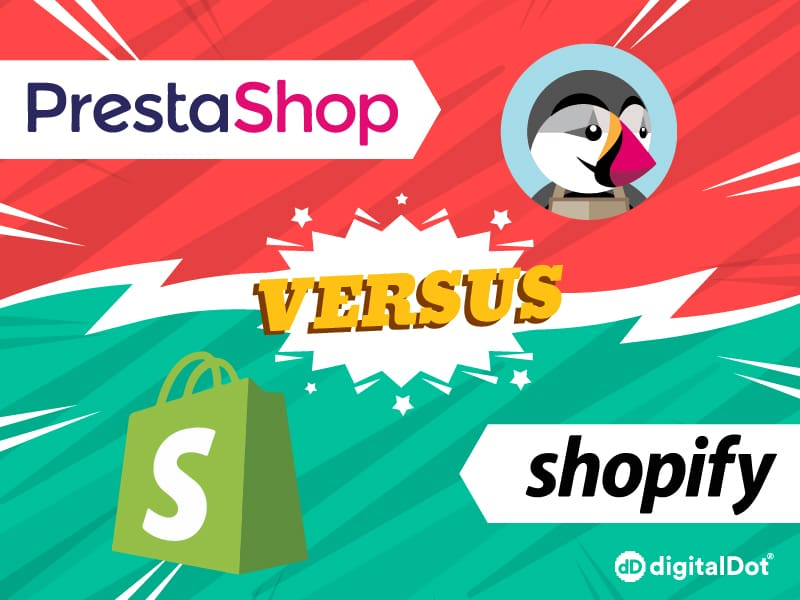 Comparativa Ecommerce Prestashop vs Shopify