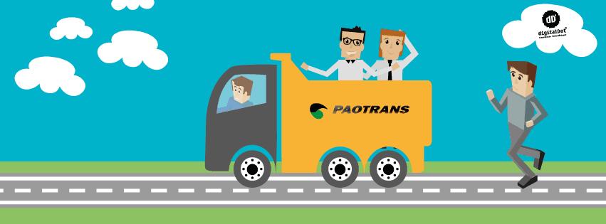 Diseño y desarrollo web Paotrans