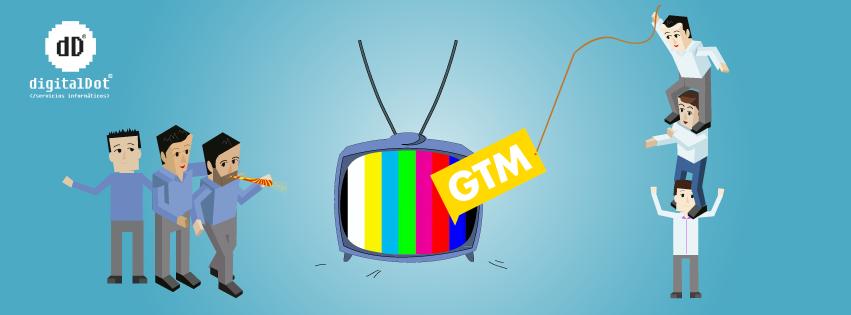 Desarrollo y diseño web GTM Televisión