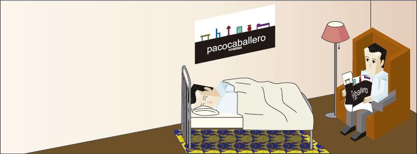 Dise o web de digitaldot para la empresa muebles paco for Muebles caballero
