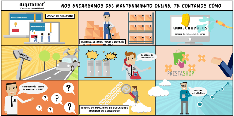 Mantenimiento online