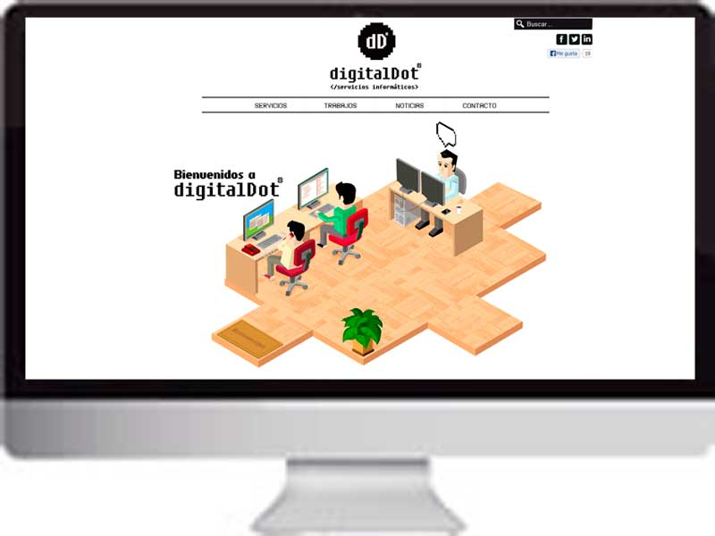 Presentación Web digitalDot