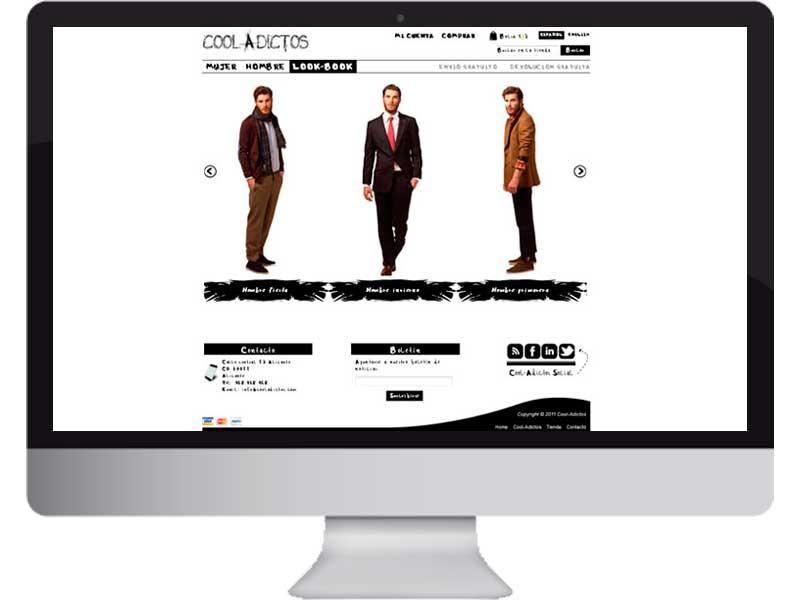 Tienda online cooladictos