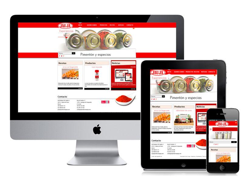 Diseño web productos Jauja