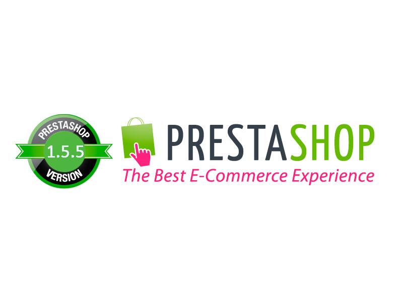 Logo Prestashop Actualización 1.5.5