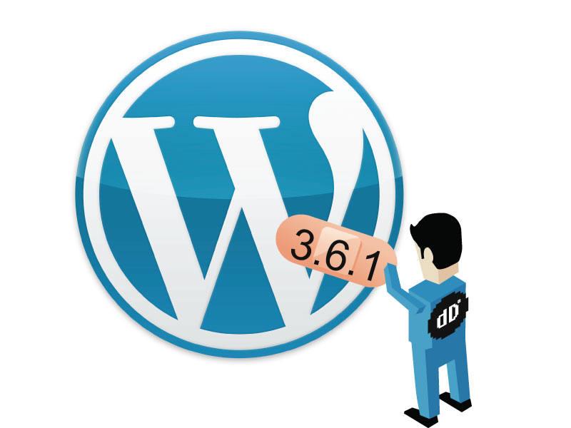 Actualización de Seguridad WordPress 3.6.1