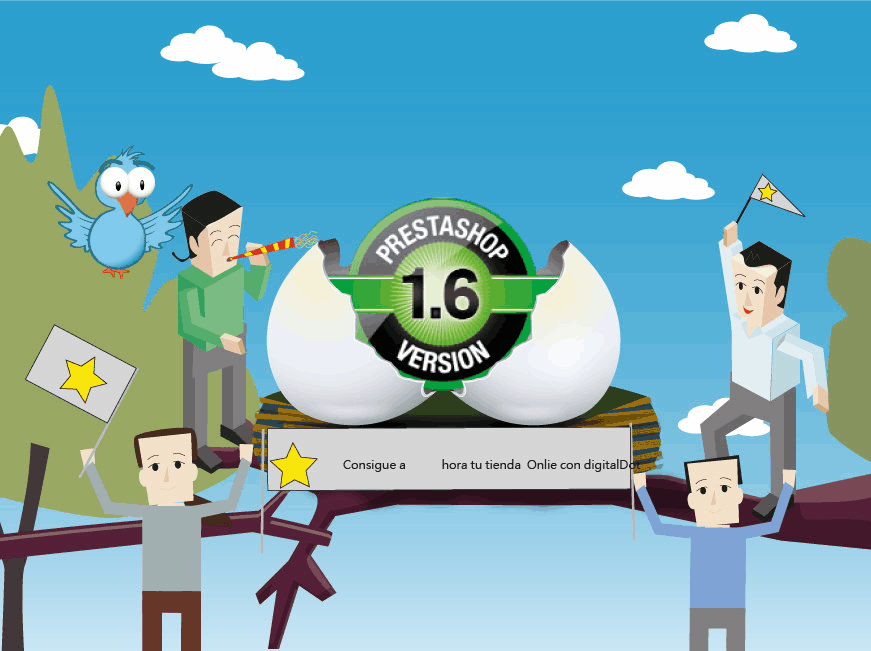 Nueva versión PrestaShop 1.6