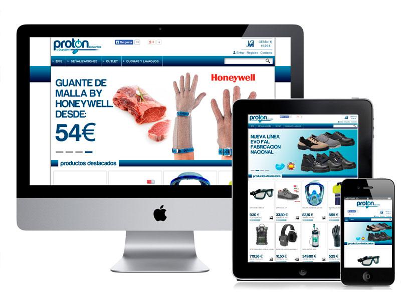 Diseño Tienda Online ProtonEpis